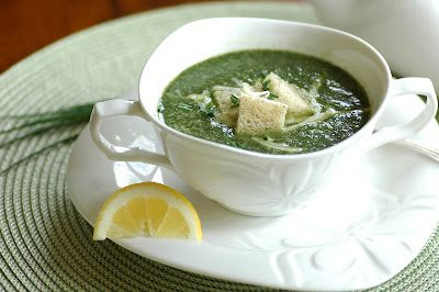 Green Soup for Earth Day (aka Green-Eyed Monster Soup)