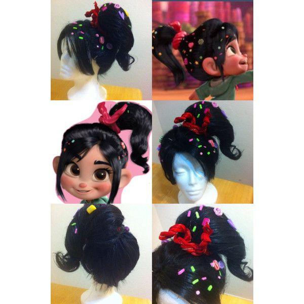 Vanellope Von Schweetz/Wreck it Ralph inspired costume wig ($225