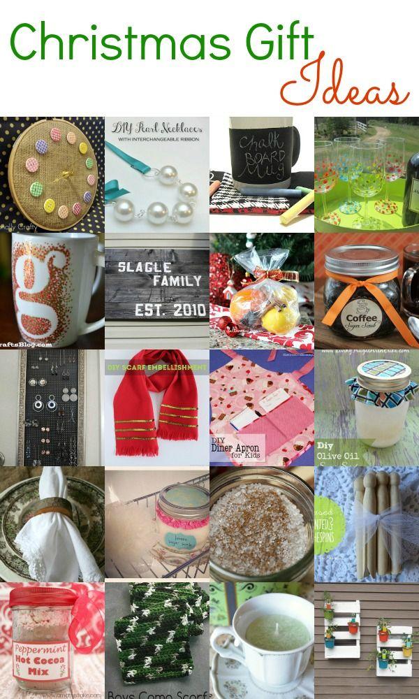 Pinterest homemade gift ideas