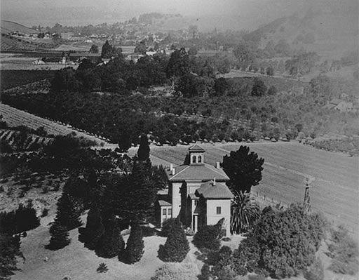 John Muir's home, Martinez, California