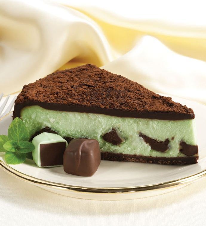 mint chocolate cheesecake | Cheesecakes | Pinterest