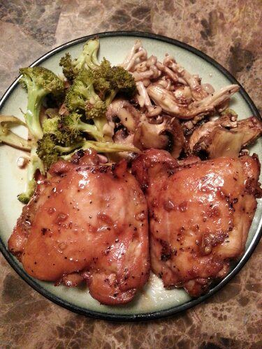 Asian marinated Baked Chicken Recipe | Food: Poultry | Pinterest