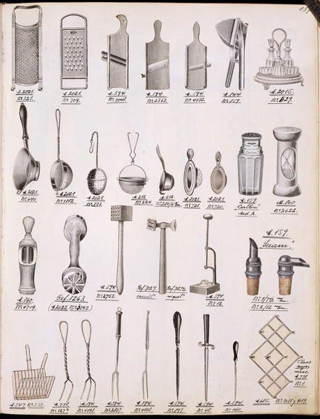 Victorian Kitchen Utensils Period Elements Pinterest
