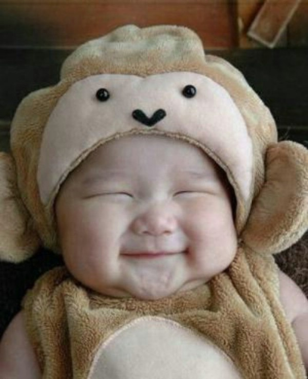 Happy baby | .faces and personalities. | Pinterest