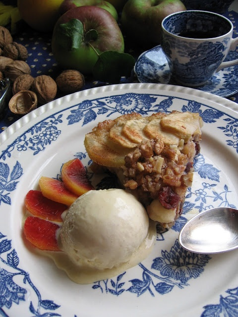 Cinnamon – Apple Walnut Torte | Everything APPLES! | Pinterest