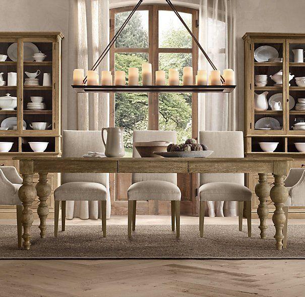 Grand Baluster Dining Table Design Pinterest