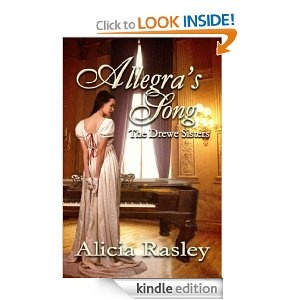 Allegra's Song: A Regency Novella.   A warrior returns from the war to the wife he left behind. This is a lush, romantic, and poignant story, as Nicholas and Allegra find each other and their love again.