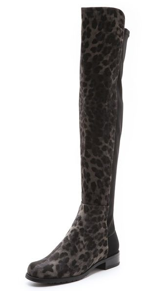 Over-the-knee boots are trending again this fall, if you love the look then there's no better pair than these by Stuart Weitzman at Shopbop, $625.