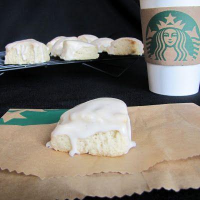 Petite Vanilla Bean Scones (like Starbucks)