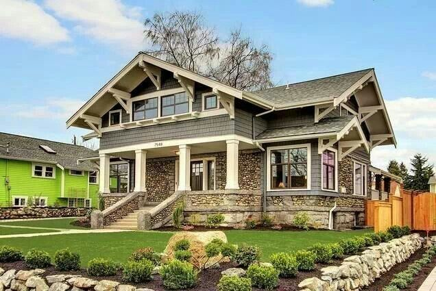 Another beautiful craftsman style dream home pinterest for Craftsman style homes for sale in nh