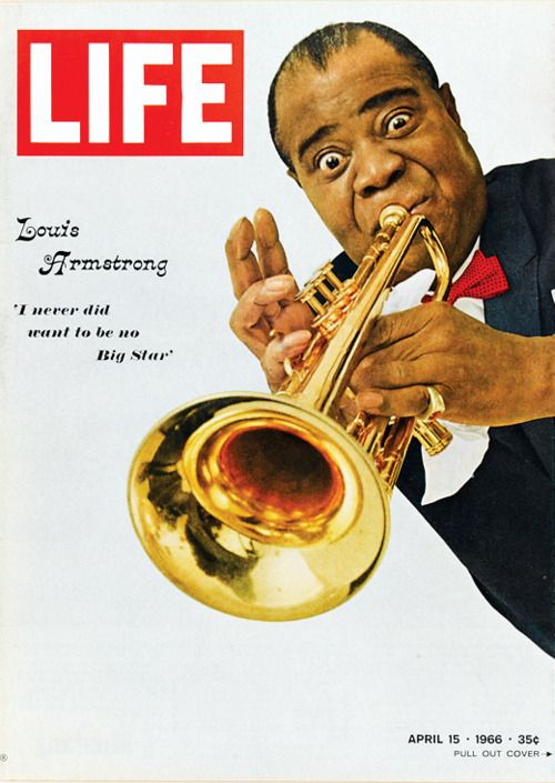 Louis Armstrong on cover of LIFE 1966