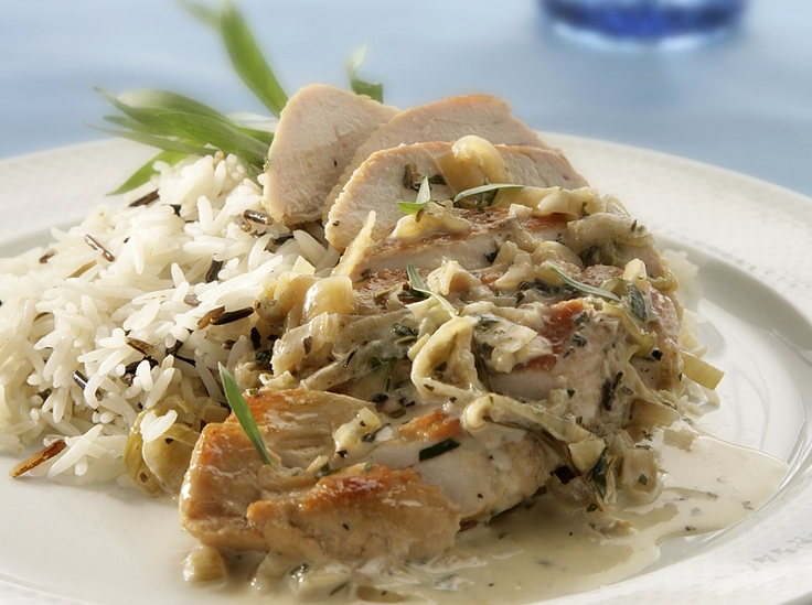 "Creamy Tarragon Chicken"" from Cookstr.com"
