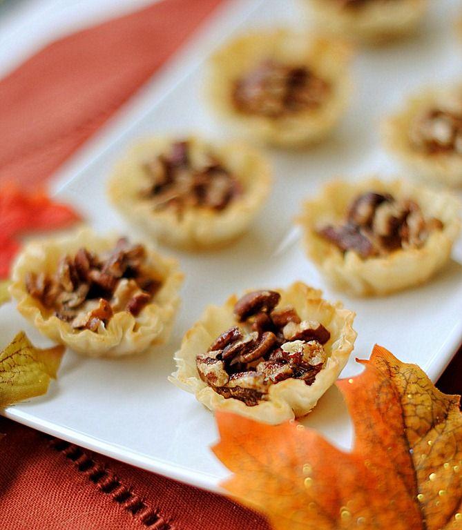 mini maple pecan pies - eat yourself skinny