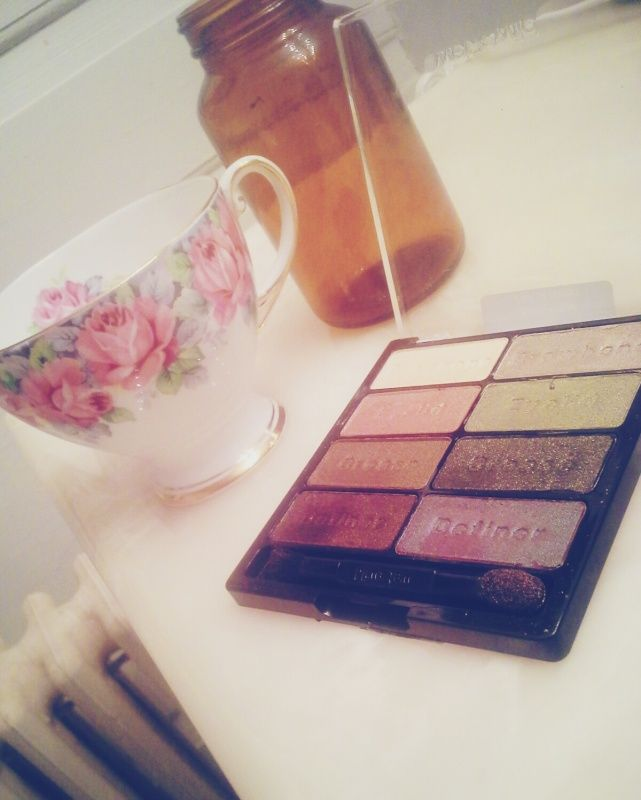 #makeup #teacup #apothcary #wet&wild #comfortzone #girly