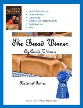 The Bread Winner by Arvella Whitmore-- great historical fiction novel unit for upper elementary. Takes place during the Great Depression.