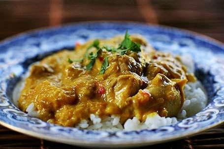 Tonights Dinner: Mango Chicken Curry with naan bread. mmm mmmm mmmmmmm