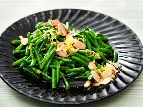 Lemon Green Beans with Almonds | Recipe