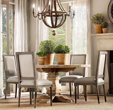 Dining Tables Restoration Hardware Dining Room Pinterest