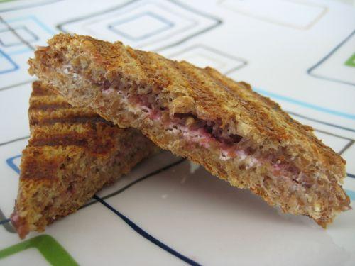Fig & Goat Cheese Sammies   Recipe