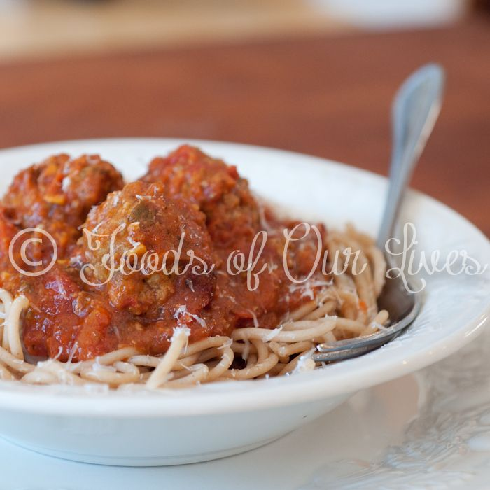 Italian-Style Meatballs With Pecorino And Parmesan Recipe ...