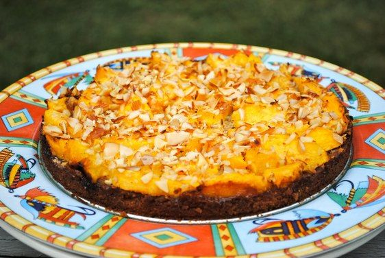 Peach Tart with Almond Crust recipe on Food52.com