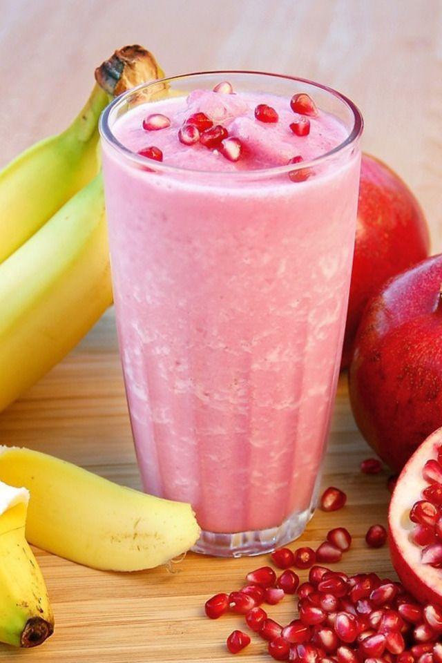 Pomegranate Banana Smoothie | Food and Libations | Pinterest