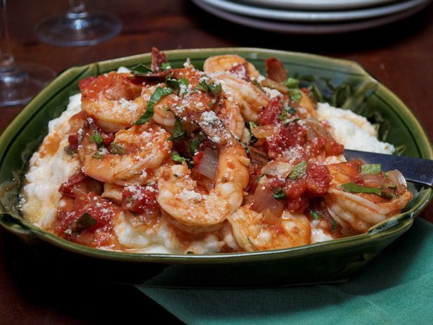 Down-Home Shrimp and Grits  #ComfortFoodFeast