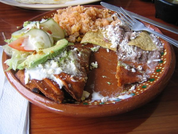 Enchiladas Potosinas | Mexico Travel & Food | Pinterest