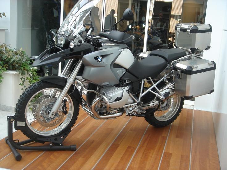 """my bike BMW r 1200 GS """"adventurized"""""""