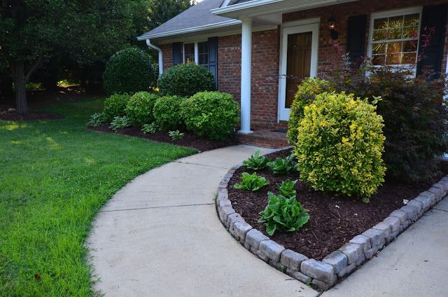 Stone Flower Bed : Stone flower bed border  gardens  Pinterest