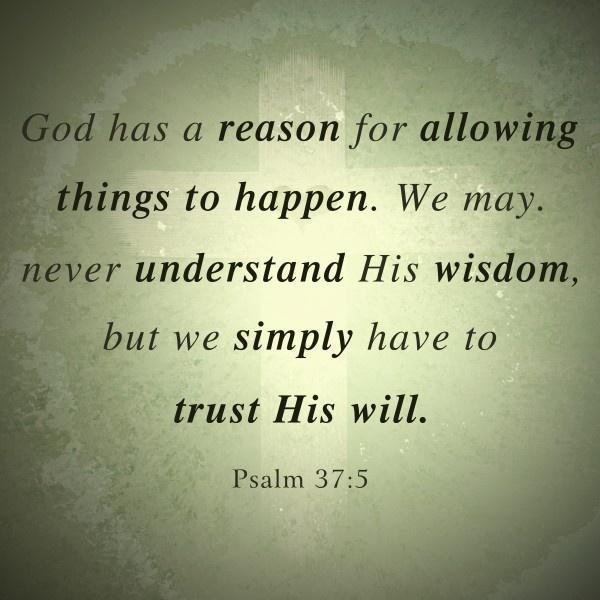 Trust His Will  http://www.facebook.com/LikesJesus