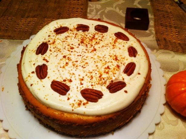 Bourbon Pumpkin Cheesecake | Desserts | Pinterest