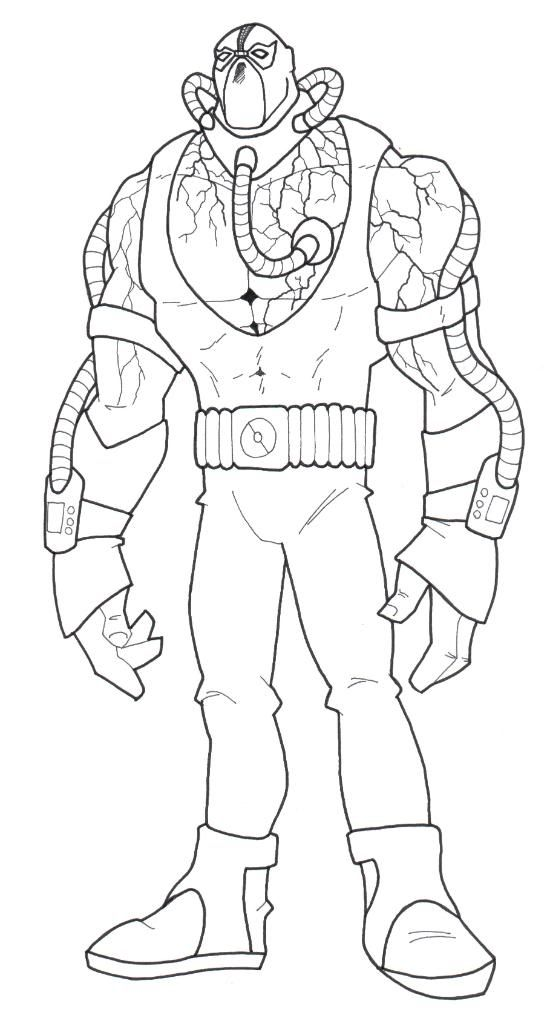 bane coloring page - coloring pages of bane from batman coloring pages
