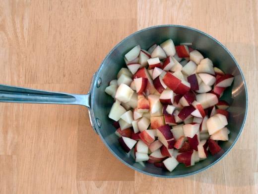 Nectarine iced cream #recipe | in the kitchen | Pinterest