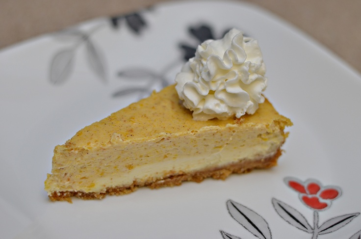 double layered pumpkin cheesecake! | I'm a fat kid | Pinterest