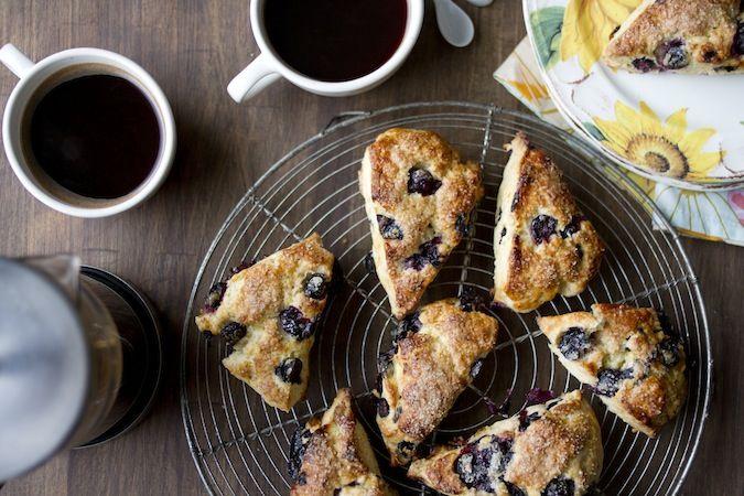 Blueberry Meyer Lemon Scones | Recipes | Pinterest