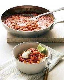 Indian vegetarian stew; citrusy warmth.