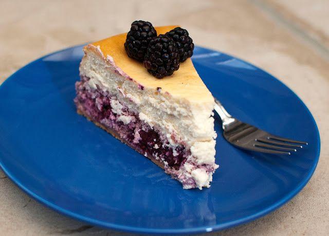 Lemon Blackberry Cheesecake | Desserts | Pinterest