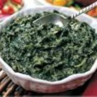 Creamed Spinach - Lightened Up by Teri Adsit