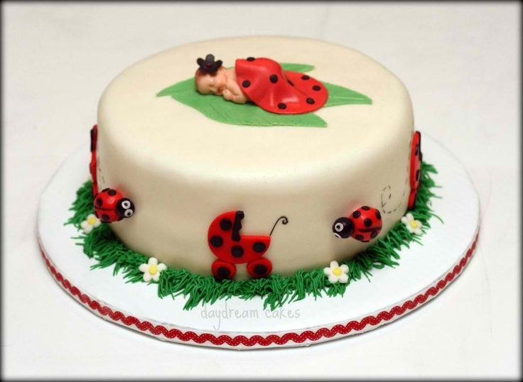 ladybug baby shower cake baby shower ideas pinterest
