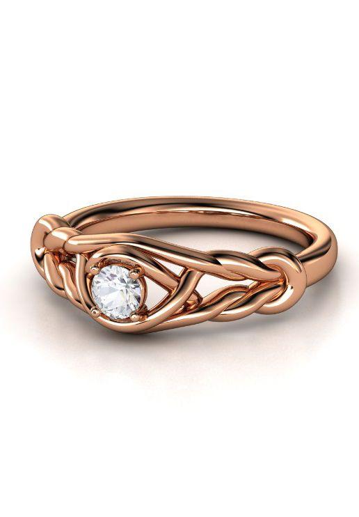 love knot diamond ring my style pinterest