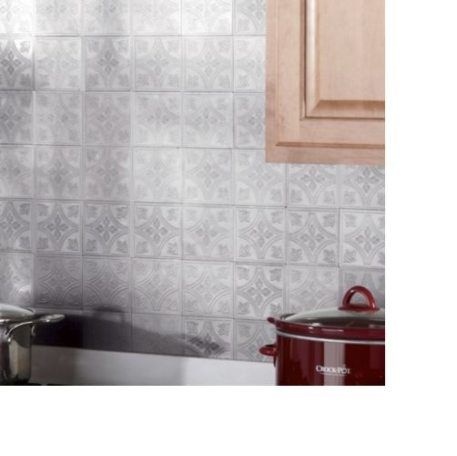 backsplash tiles self stick tin from seventh avenue