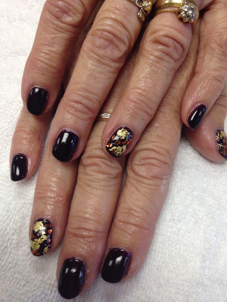 Fall Acrylic Nails Gel