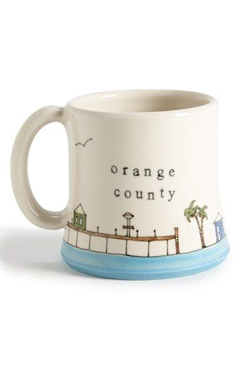 Downing Pottery Orange County Mug available at #Nordstrom