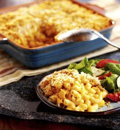 Creamy Macaroni and Three Cheeses