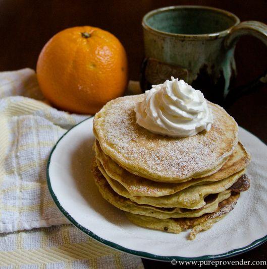 Orange Ricotta pancakes   Yummo   Pinterest