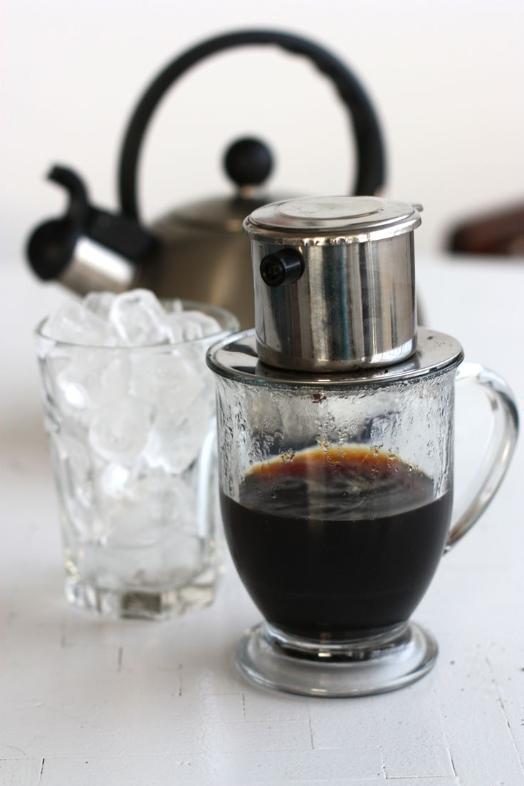 Vietnamese Iced Coffee | ~ COFFEE HOUSE ~ | Pinterest