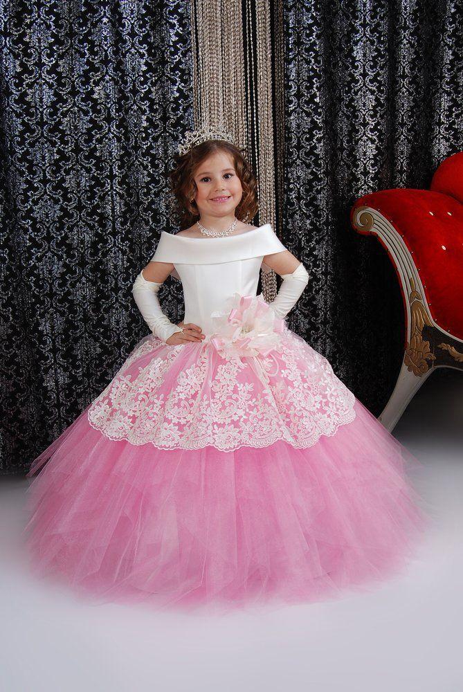Фото бальных платьёв для девочек