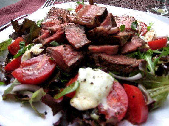 Steak Salad.....OMG!!! | Food and Drink | Pinterest