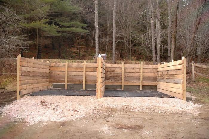 horse manure composting community garden pinterest